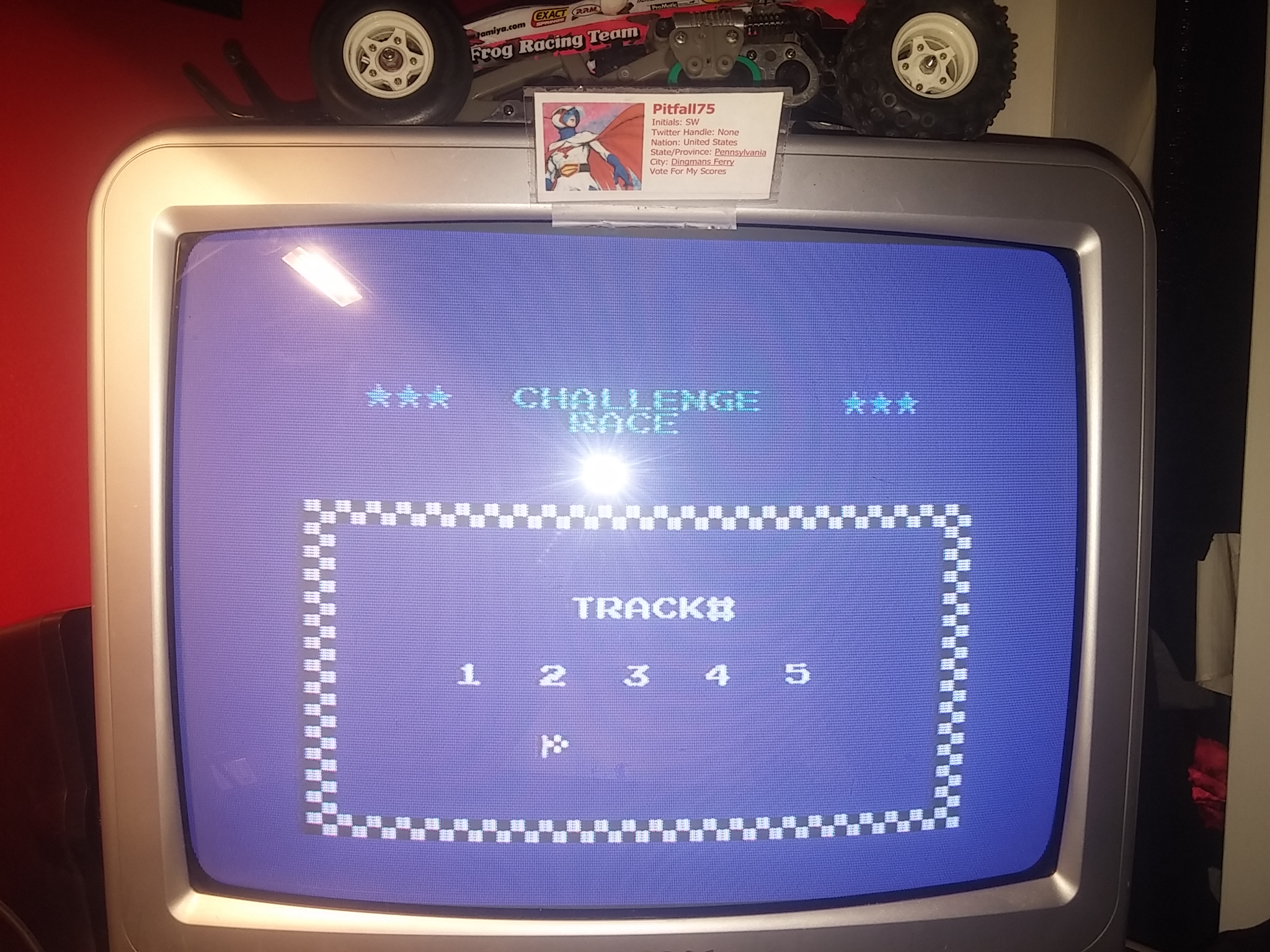 Pitfall75: Excitebike: Track 2 (NES/Famicom) 0:00:56.91 points on 2018-02-18 13:19:40