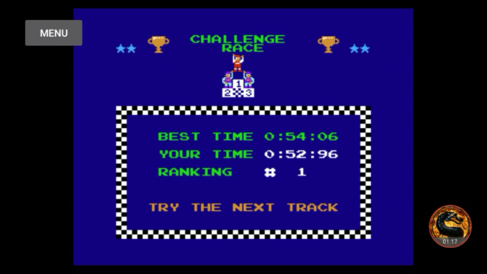 omargeddon: Excitebike: Track 2 (NES/Famicom Emulated) 0:00:52.96 points on 2018-07-21 20:03:14