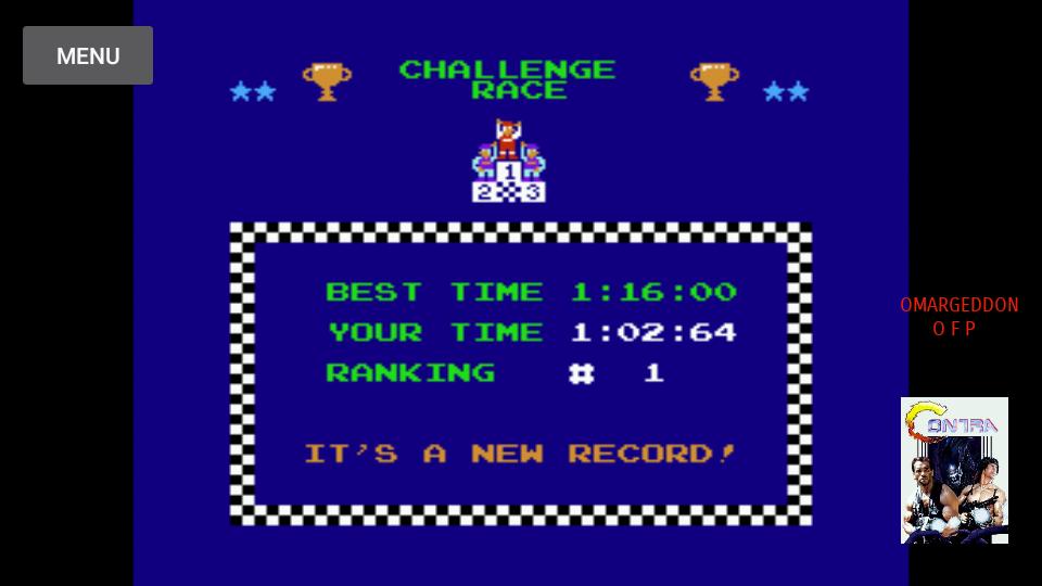 omargeddon: Excitebike: Track 3 (NES/Famicom Emulated) 0:01:02.64 points on 2017-10-10 23:21:51