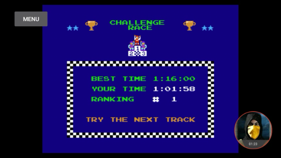 omargeddon: Excitebike: Track 3 (NES/Famicom Emulated) 0:01:01.58 points on 2018-01-26 19:14:38