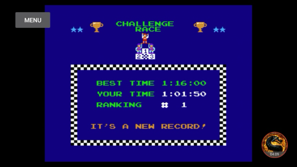 omargeddon: Excitebike: Track 3 (NES/Famicom Emulated) 0:01:01.5 points on 2018-09-28 21:24:53