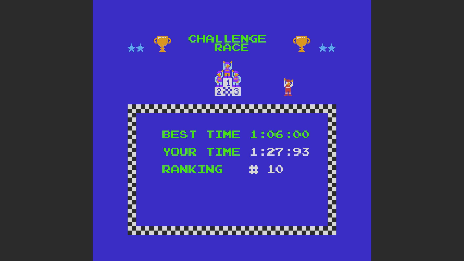 AkinNahtanoj: Excitebike: Track 5 (NES/Famicom Emulated) 0:01:27.93 points on 2020-08-20 13:40:09