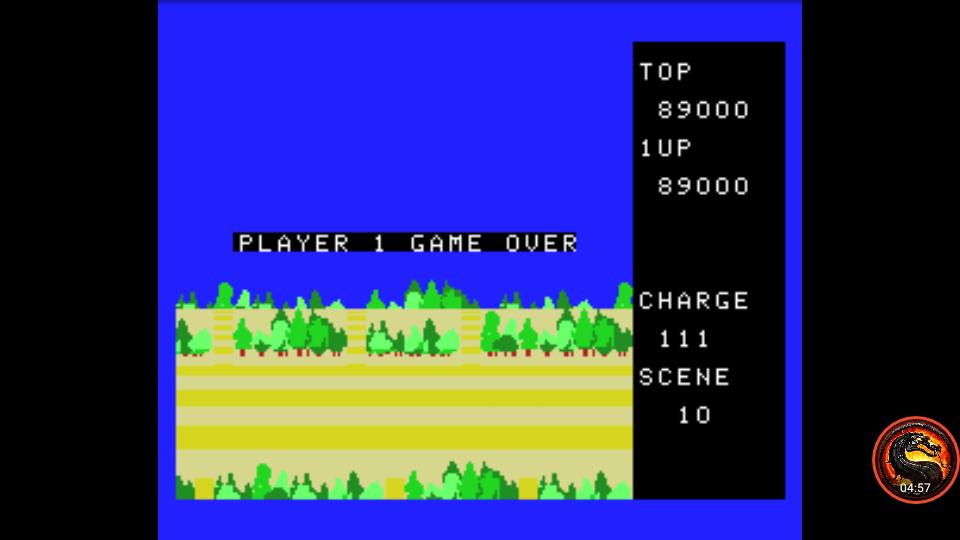 omargeddon: Exerion 2: Zorni (MSX Emulated) 89,000 points on 2021-04-01 16:49:22