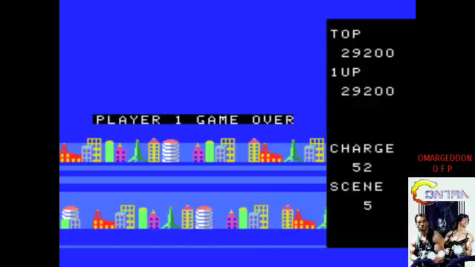 omargeddon: Exerion 2: Zorni (MSX Emulated) 29,200 points on 2017-07-28 14:05:50