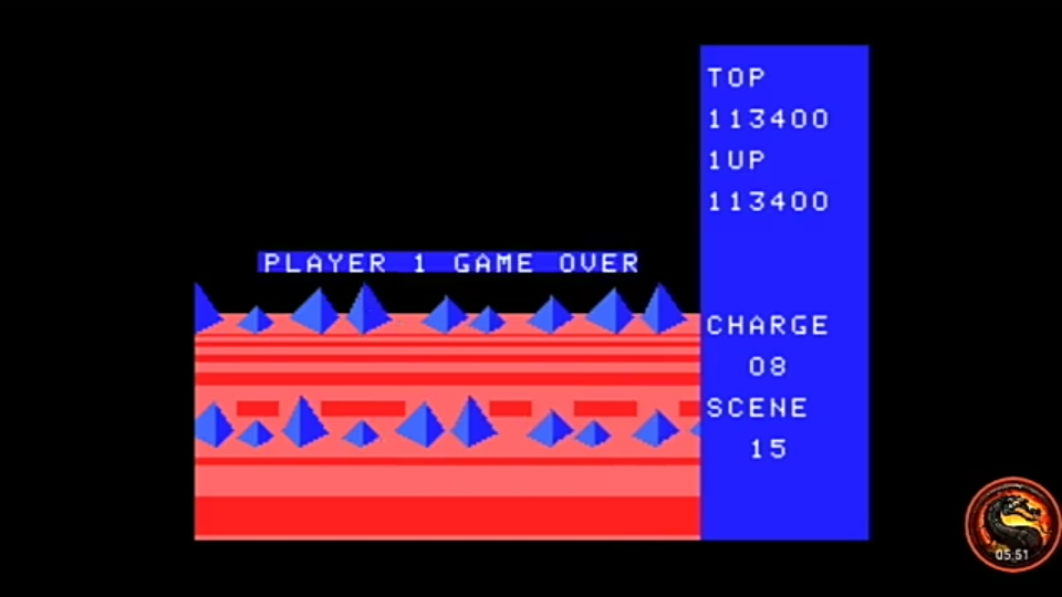 omargeddon: Exerion (MSX Emulated) 113,400 points on 2020-12-24 16:00:01