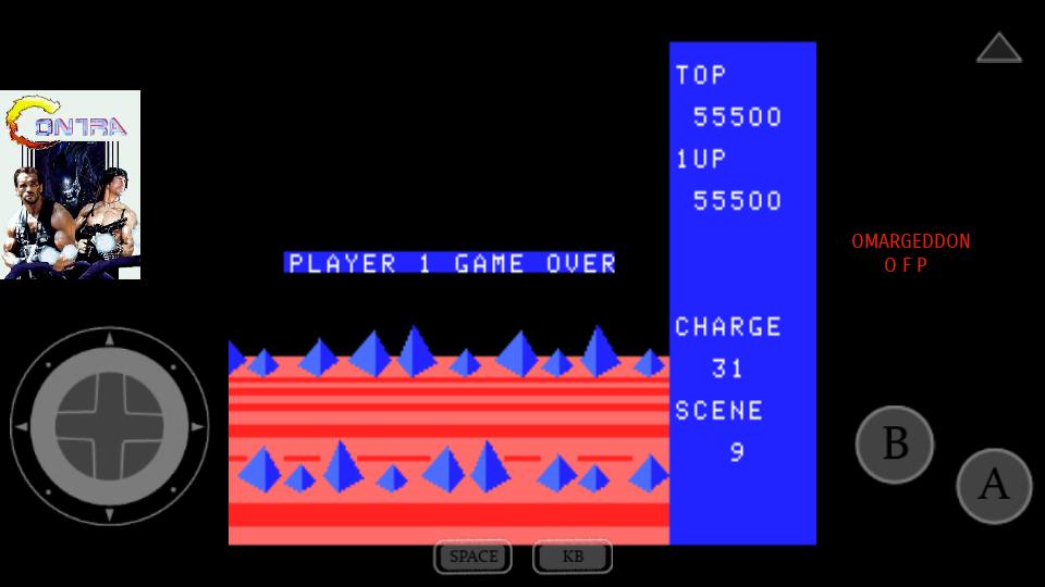 omargeddon: Exerion (MSX Emulated) 55,500 points on 2017-07-25 00:10:05