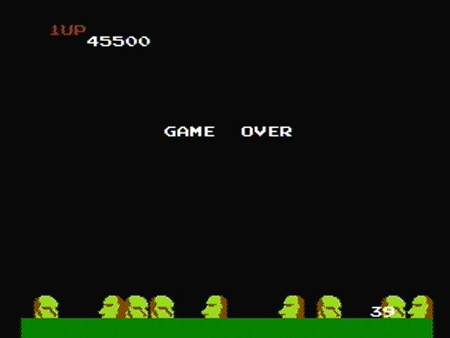 derek: Exerion (NES/Famicom) 45,500 points on 2016-08-22 16:20:19