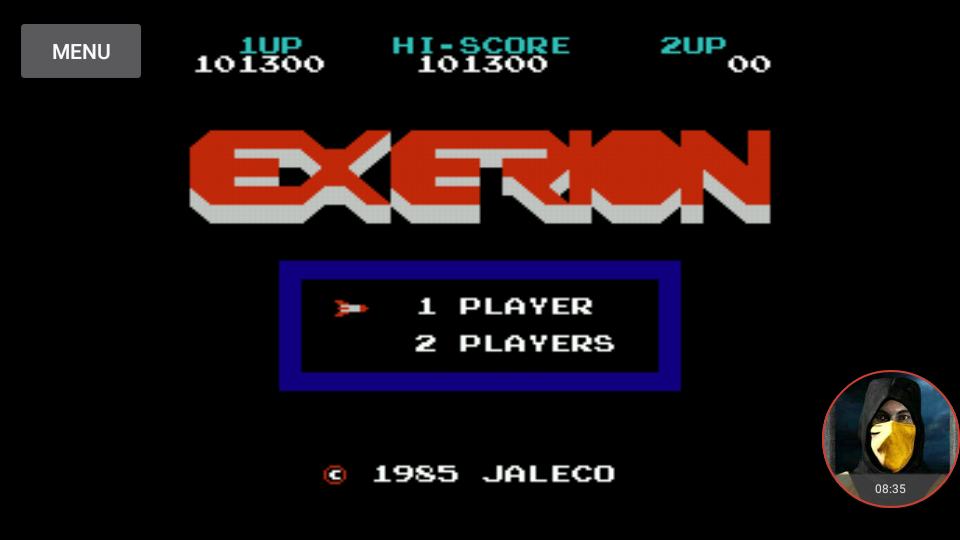 omargeddon: Exerion (NES/Famicom Emulated) 101,300 points on 2018-01-15 17:09:57