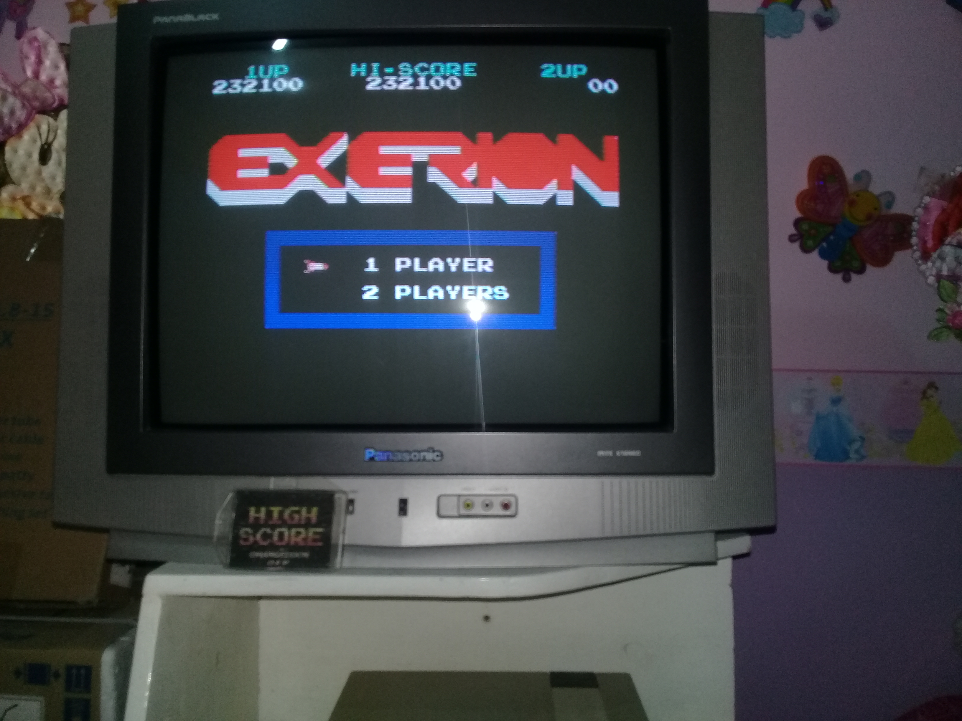 omargeddon: Exerion (NES/Famicom) 232,100 points on 2019-03-23 00:43:48