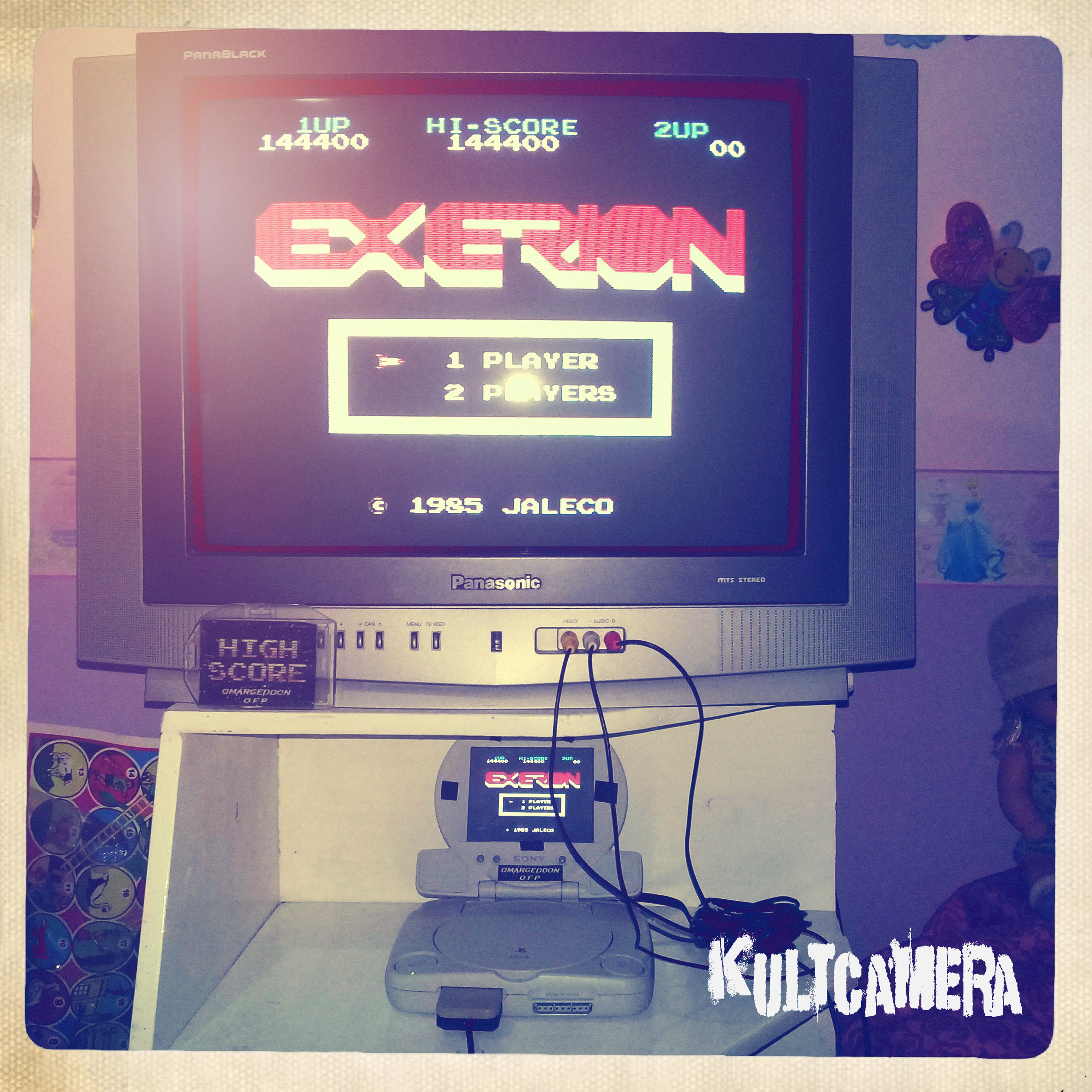 omargeddon: Exerion (NES/Famicom Emulated) 144,400 points on 2019-07-14 13:18:19
