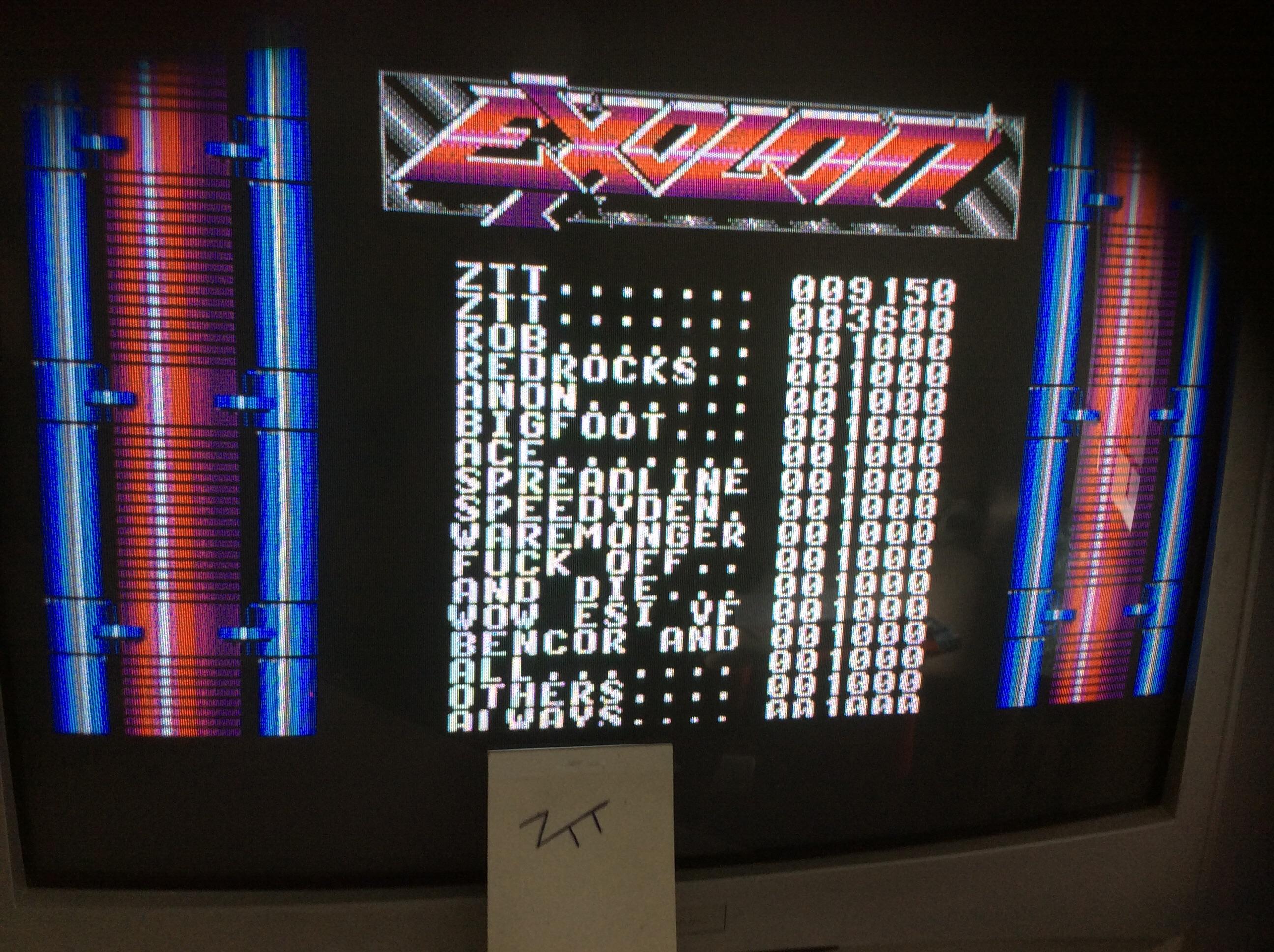 Frankie: Exolon (Amiga) 9,150 points on 2016-07-09 03:36:44