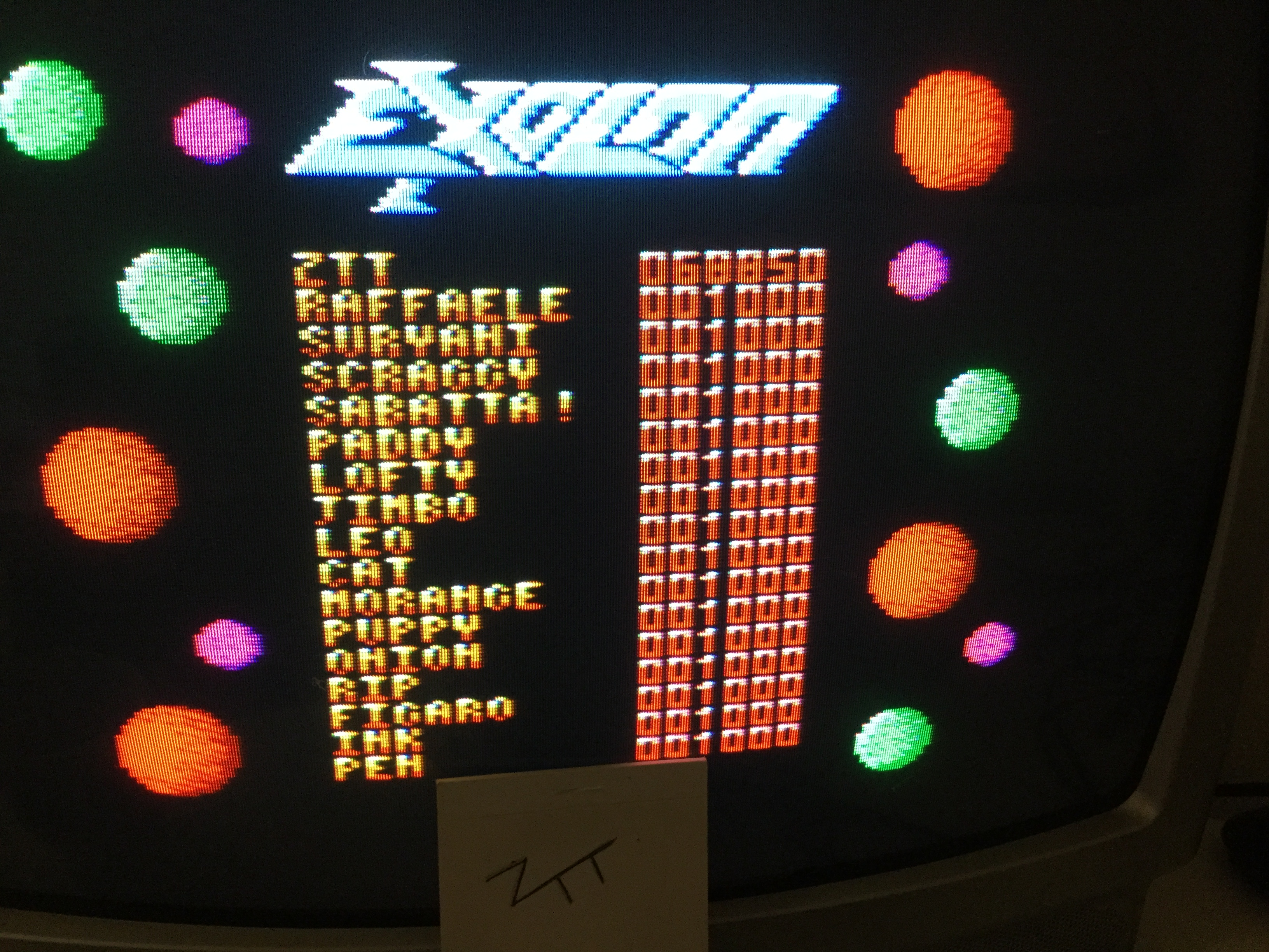 Frankie: Exolon (Amstrad CPC) 68,850 points on 2017-01-29 03:47:36