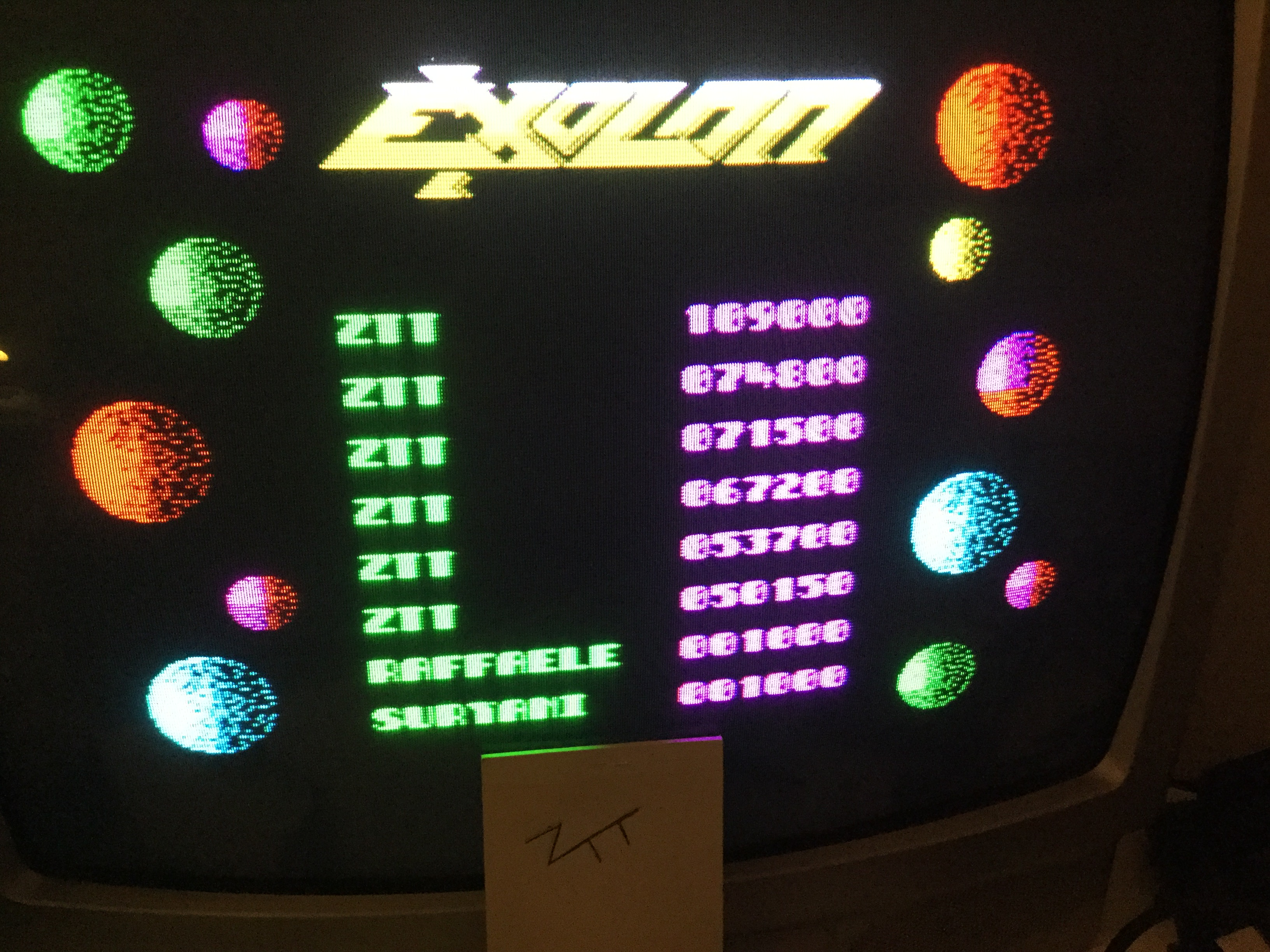 Frankie: Exolon (ZX Spectrum) 109,000 points on 2019-02-07 01:52:15