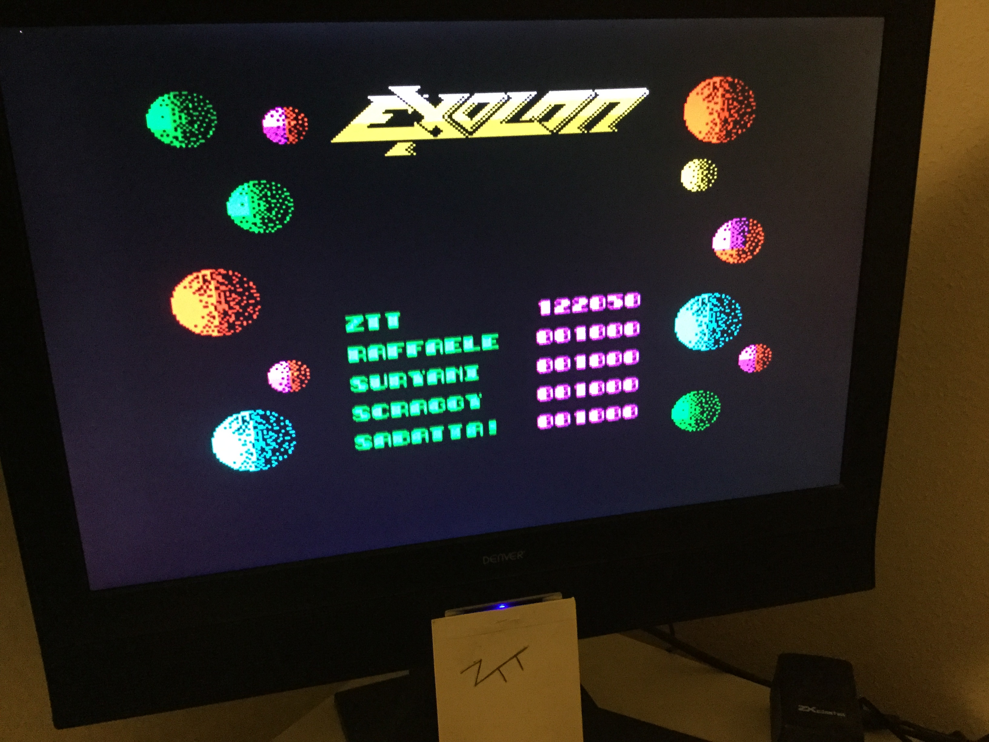 Frankie: Exolon (ZX Spectrum) 122,050 points on 2020-02-07 13:02:14