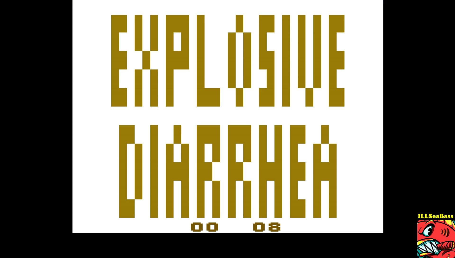 ILLSeaBass: Explosive Diarrhea (Atari 2600 Emulated) 8 points on 2017-04-29 19:41:45