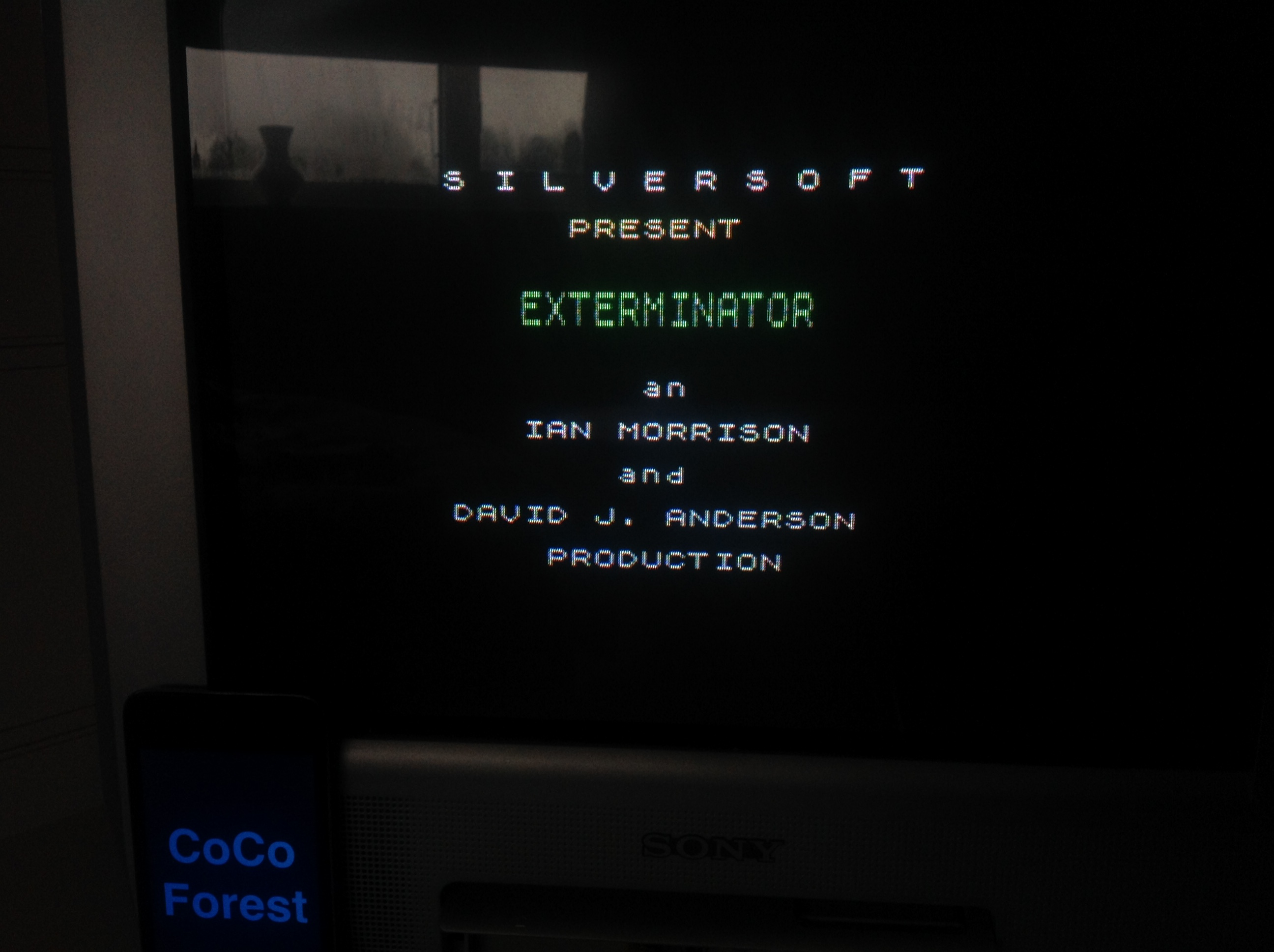 CoCoForest: Exterminator [Silversoft] (ZX Spectrum) 40,800 points on 2016-01-22 08:01:50