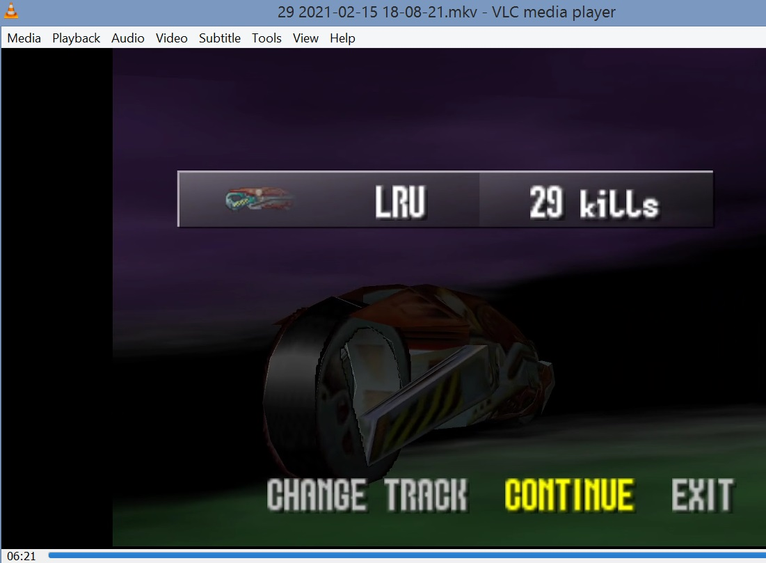 LuigiRuffolo: Extreme G: Kills: Space Station 2  (N64 Emulated) 29 points on 2021-02-18 07:19:14