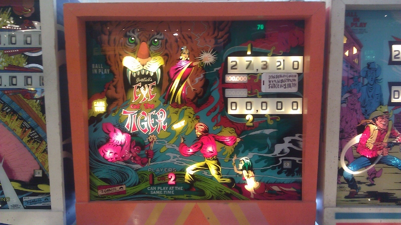 ichigokurosaki1991: Eye Of The Tiger (Pinball: 3 Balls) 127,320 points on 2016-04-12 21:09:06