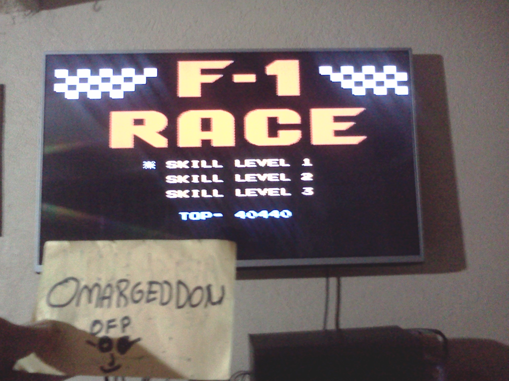 F-1 Race: Skill 1 40,440 points