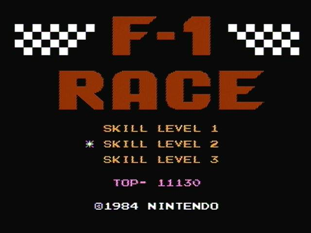 F-1 Race: Skill 2 11,130 points