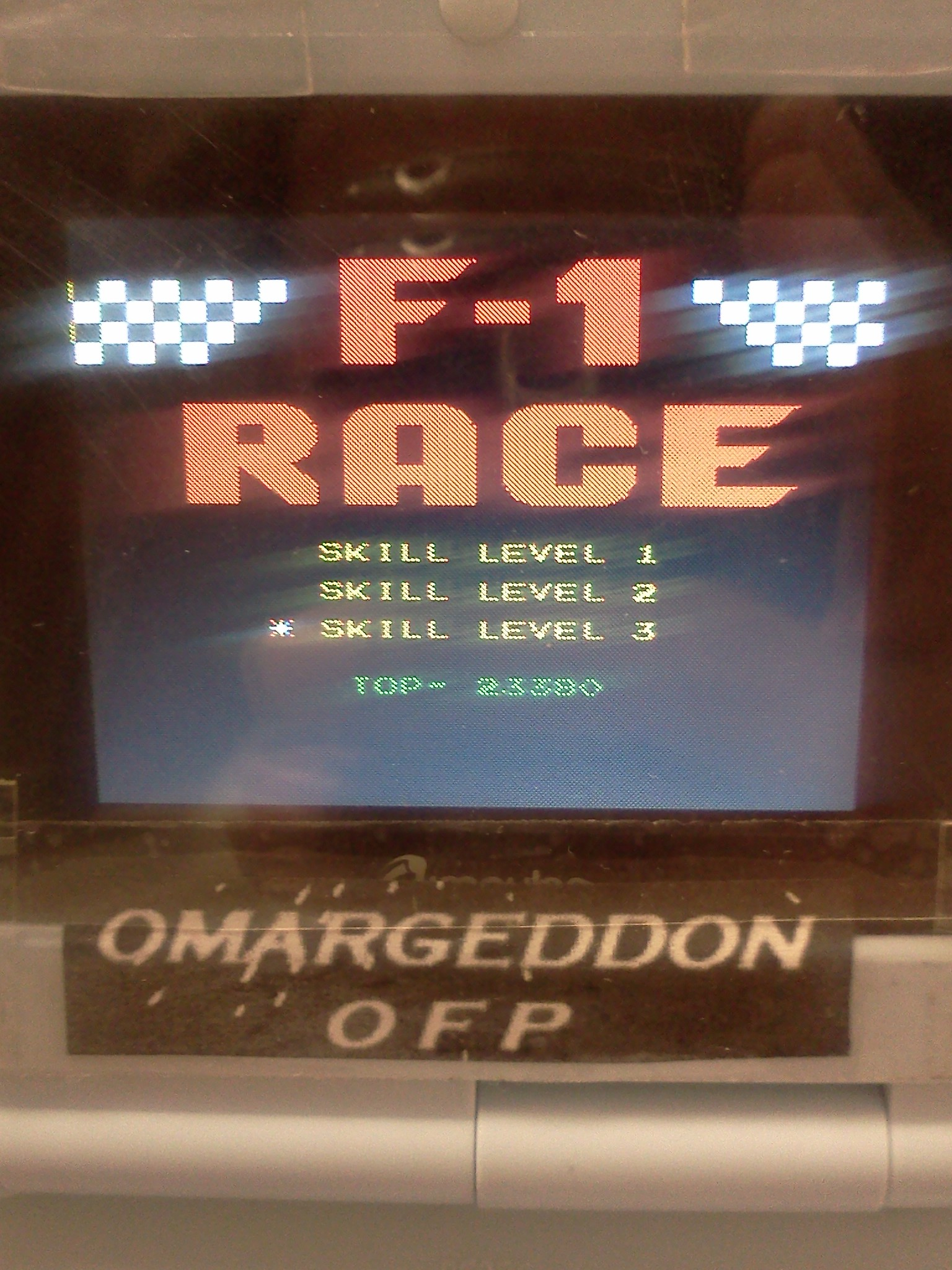 F-1 Race: Skill 3 23,380 points