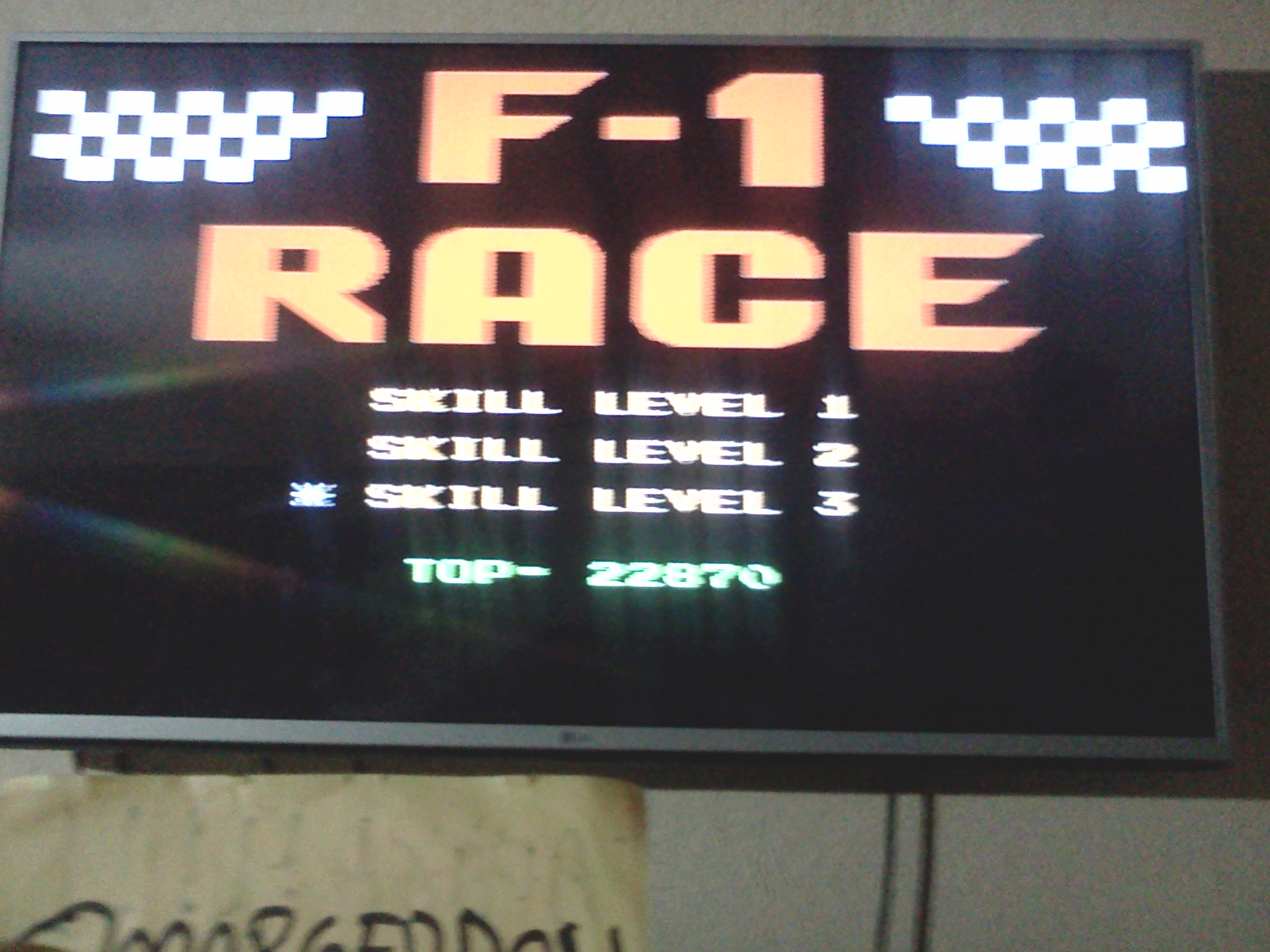 F-1 Race: Skill 3 22,870 points