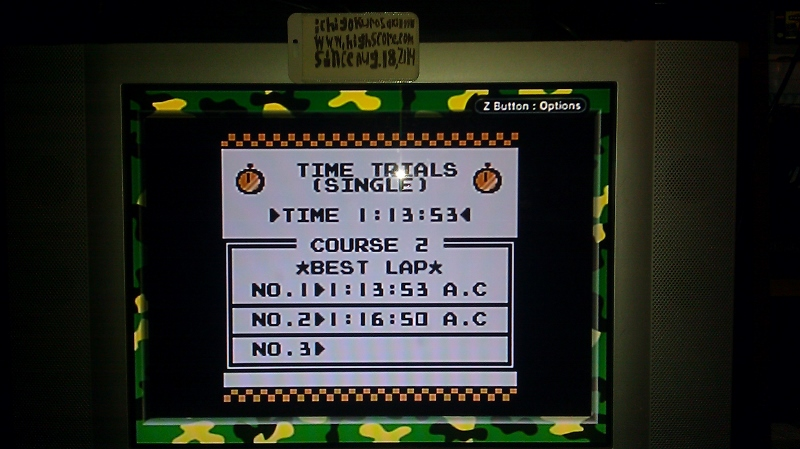 ichigokurosaki1991: F-1 Race: Time Trials: Single: Canada [Best Lap] (Game Boy) 0:01:13.53 points on 2016-06-21 23:19:18