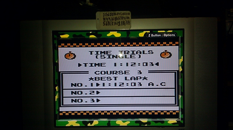 ichigokurosaki1991: F-1 Race: Time Trials: Single: U.S.A. [Best Lap] (Game Boy) 0:01:12.03 points on 2016-06-21 23:19:34
