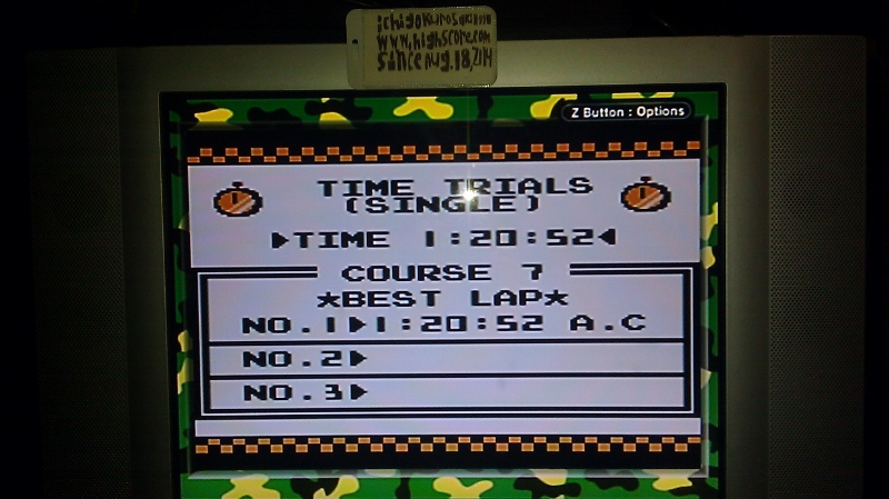 ichigokurosaki1991: F-1 Race: Time Trials: Single: U.S.S.R. [Best Lap] (Game Boy) 0:01:20.52 points on 2016-06-21 23:20:45