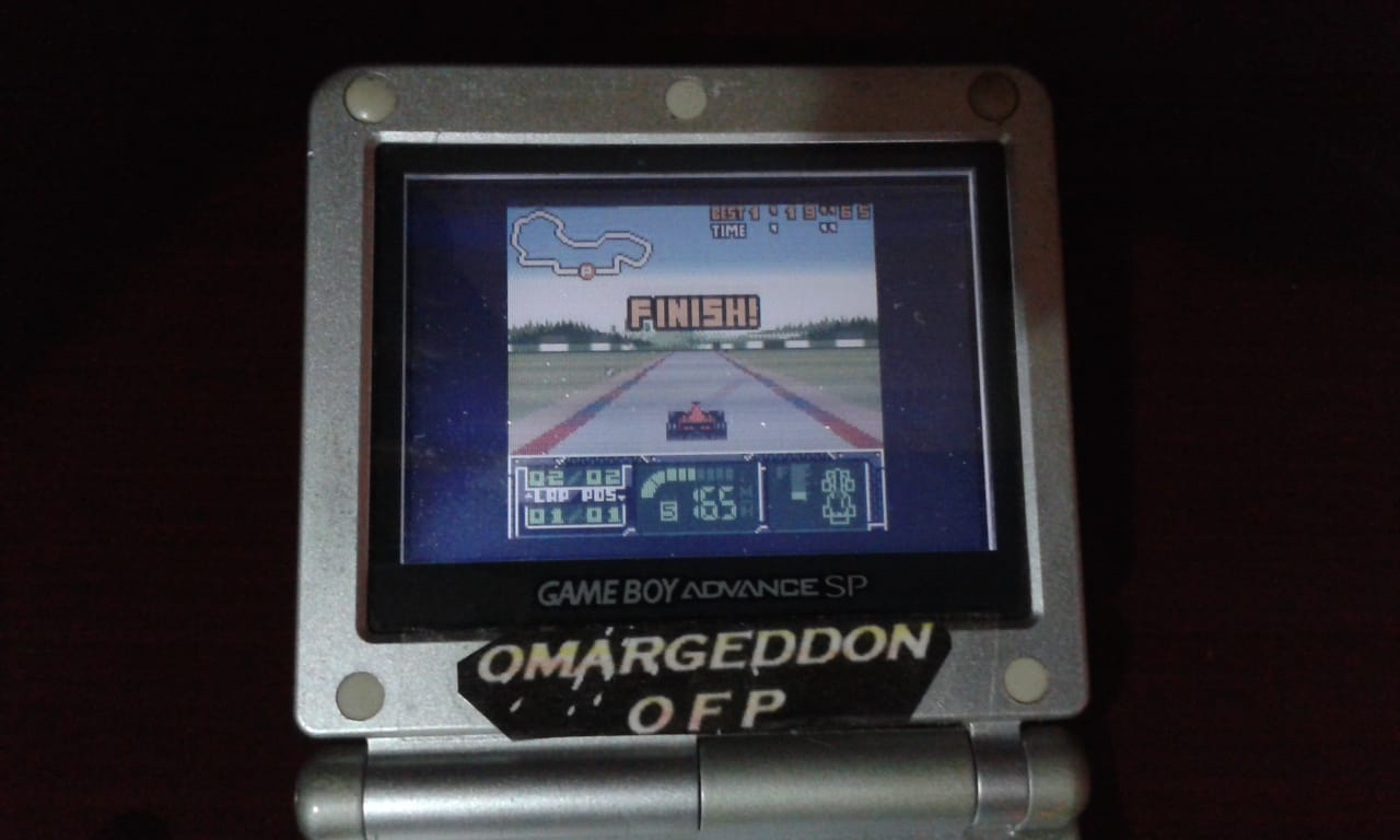 omargeddon: F-1 World Grand Prix II: Time Trials: Rookie: Track 01 Australian GP [Best Lap] (Game Boy Color) 0:01:19.65 points on 2018-08-24 00:01:32