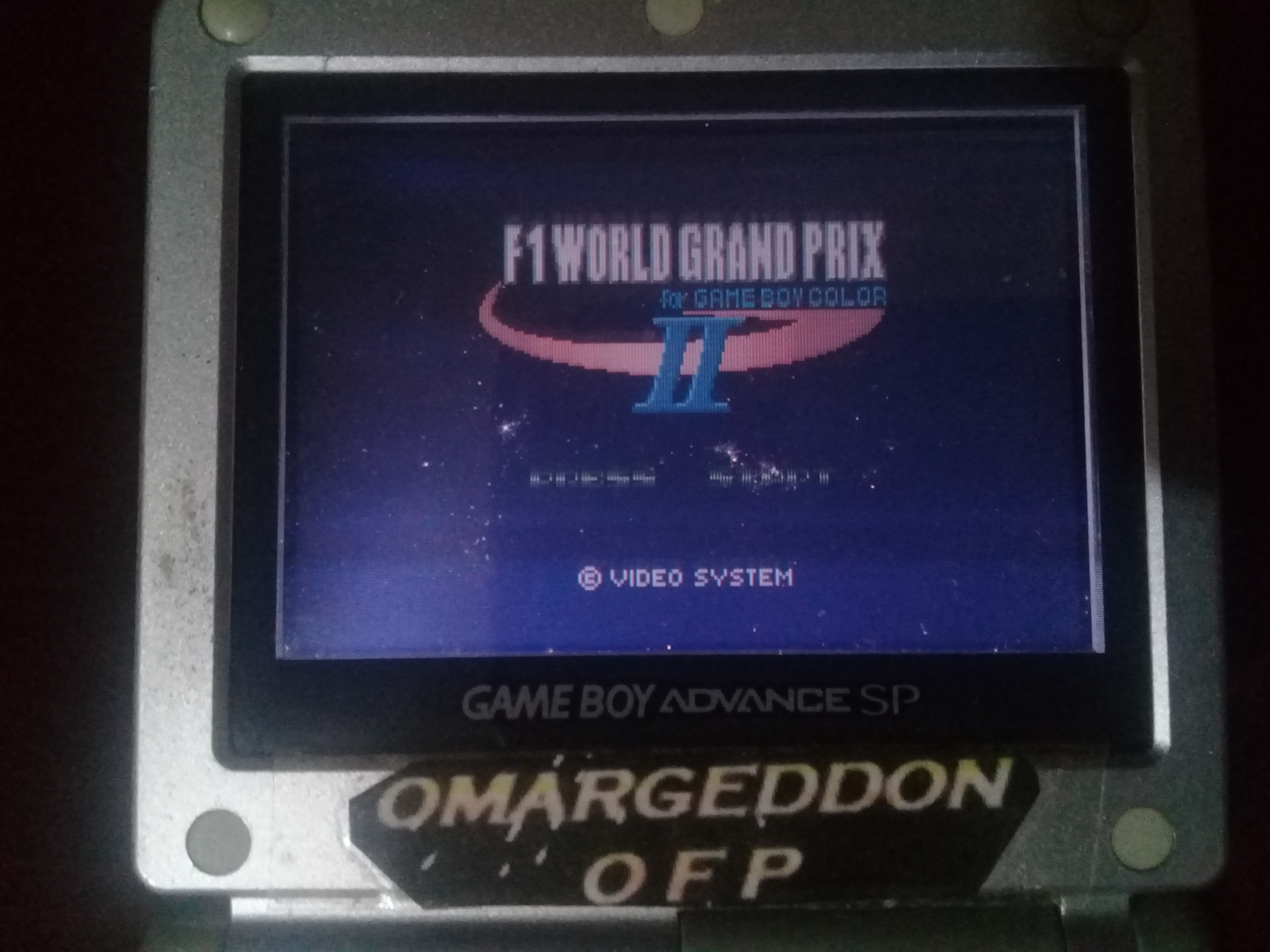 omargeddon: F-1 World Grand Prix II: Time Trials: Rookie: Track 02 Brazilian GP [Best Lap] (Game Boy Color) 0:01:11.41 points on 2020-07-12 12:41:41