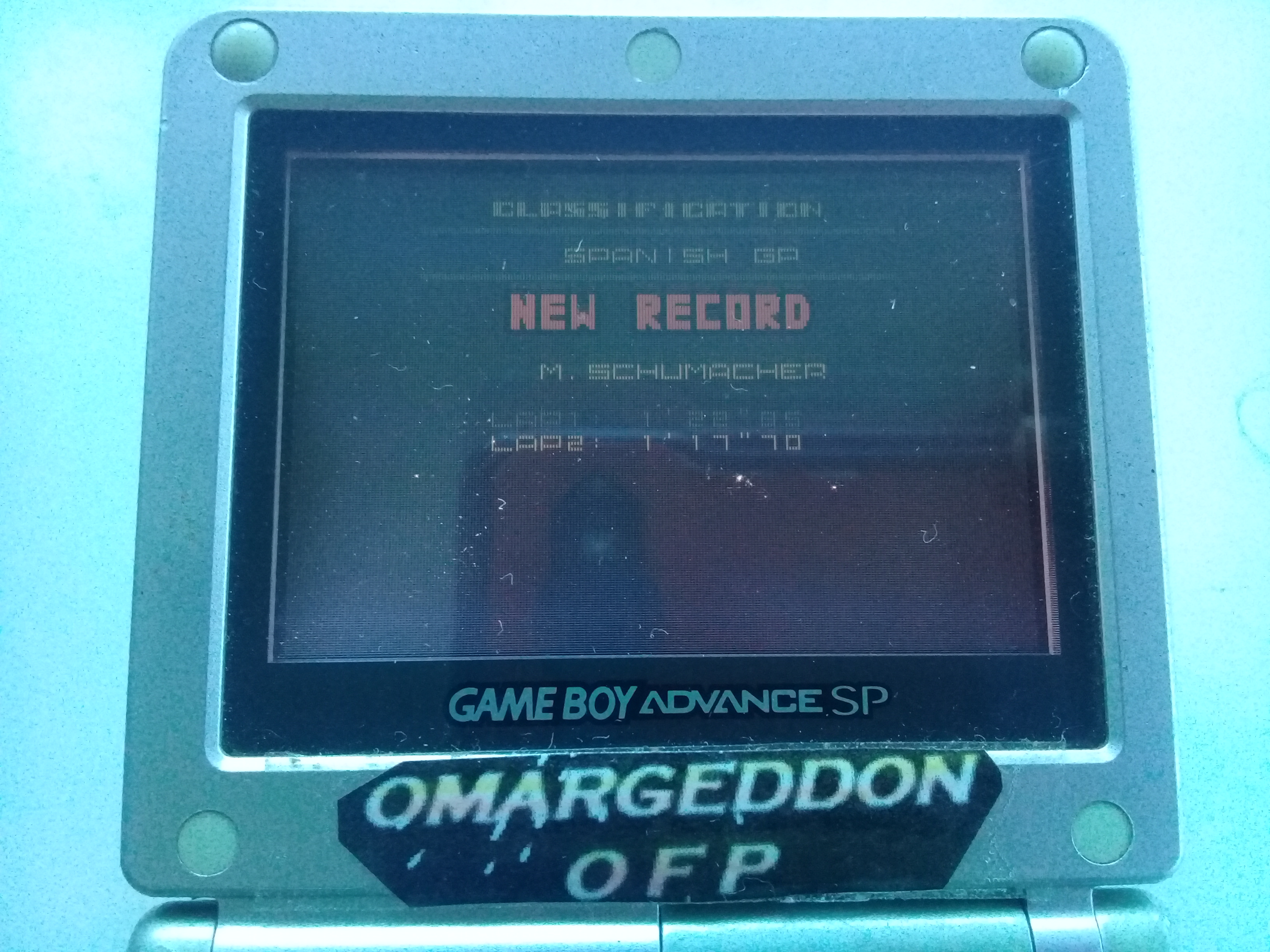 omargeddon: F-1 World Grand Prix II: Time Trials: Rookie: Track 05 Spanish GP [Best Lap] (Game Boy Color) 0:01:17.7 points on 2018-12-01 17:14:36