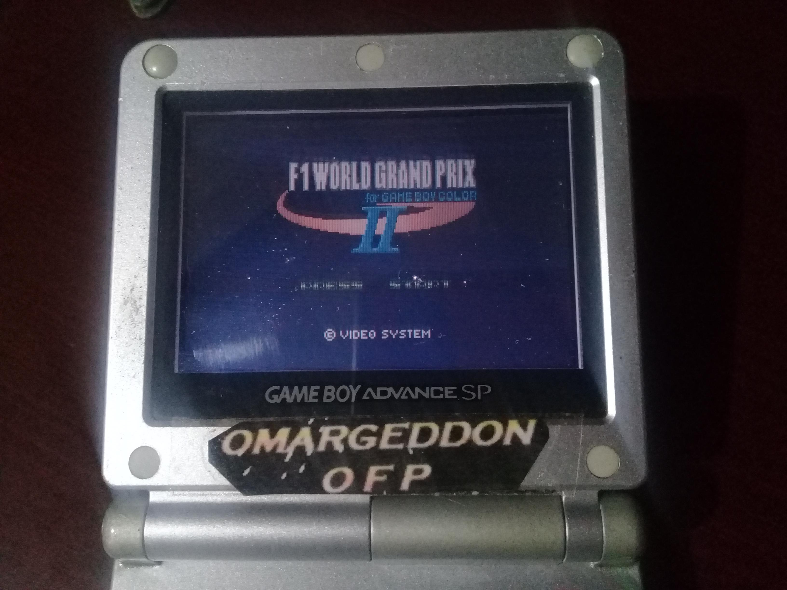 omargeddon: F-1 World Grand Prix II: Time Trials: Rookie: Track 08 British GP [Best Lap] (Game Boy Color) 0:01:15.1 points on 2019-01-02 12:47:29