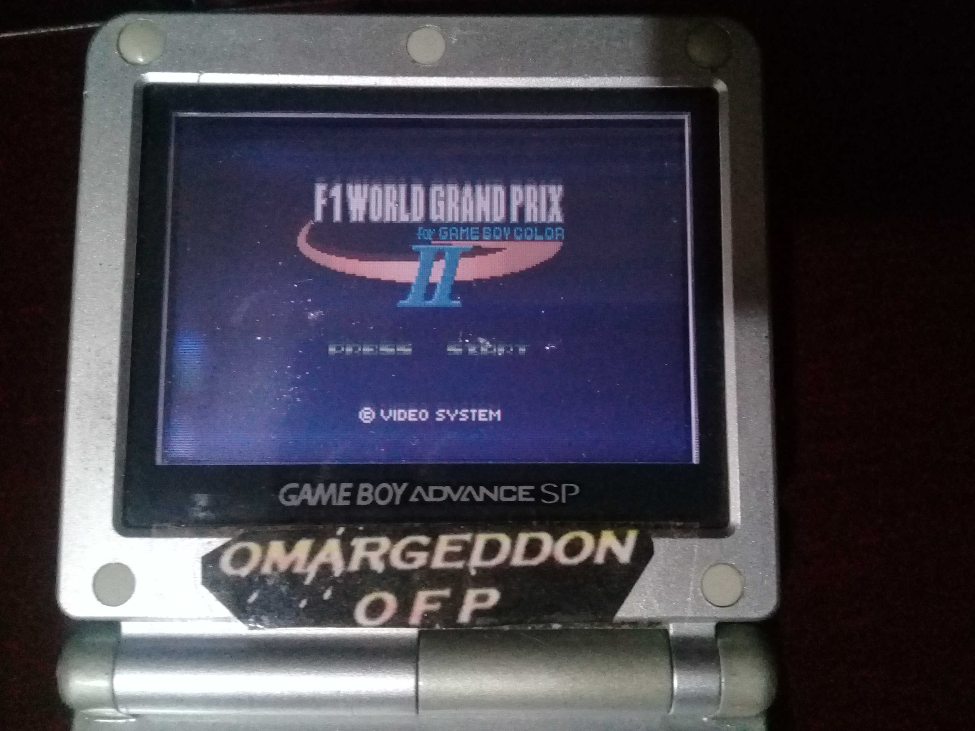 omargeddon: F-1 World Grand Prix II: Time Trials: Rookie: Track 12 Belgian GP [Best Lap] (Game Boy Color) 0:01:36.2 points on 2019-02-08 00:33:46