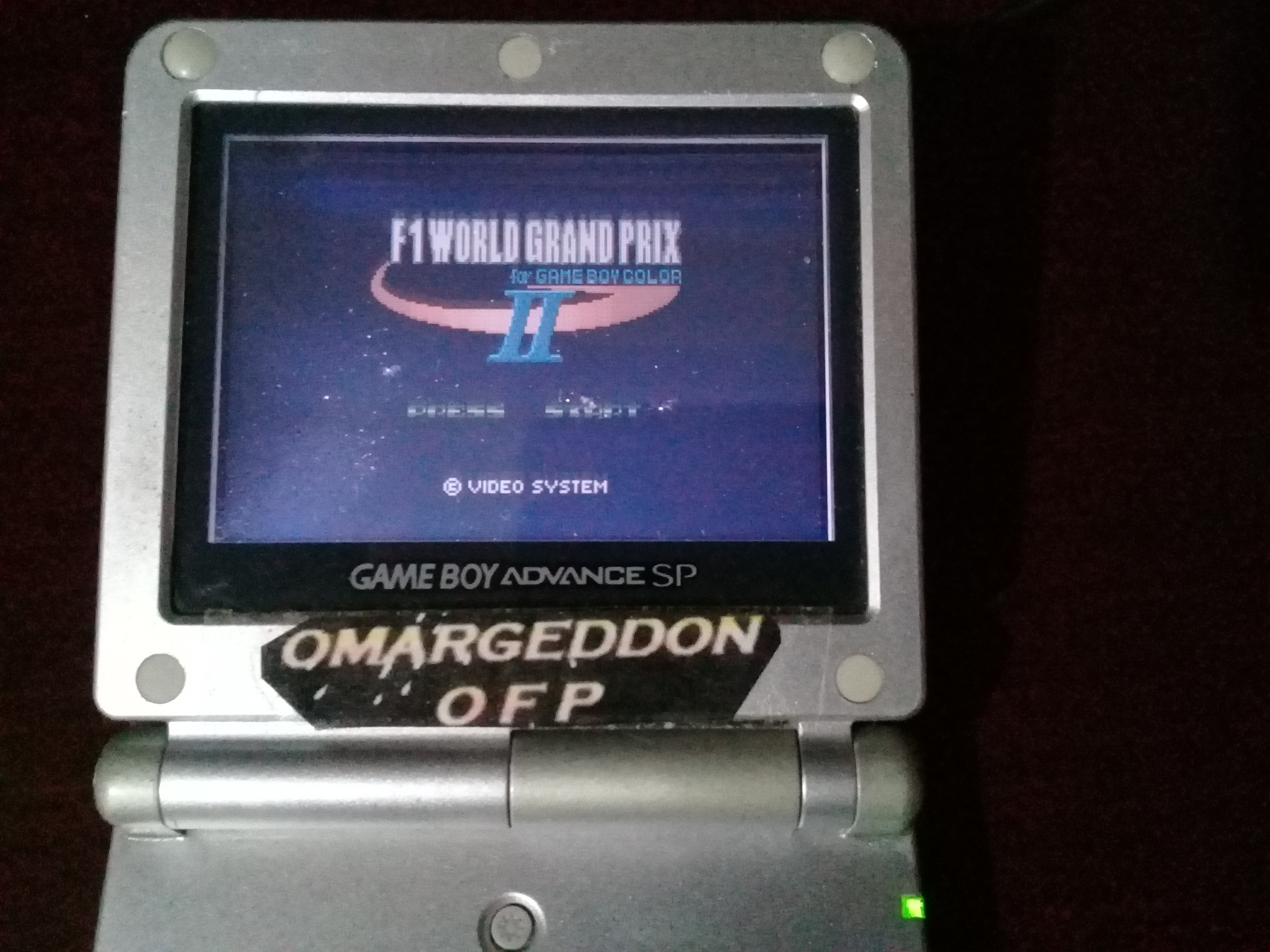 omargeddon: F-1 World Grand Prix II: Time Trials: Rookie: Track 15 Malaysian GP [Best Lap] (Game Boy Color) 0:01:09.66 points on 2019-03-01 09:15:50