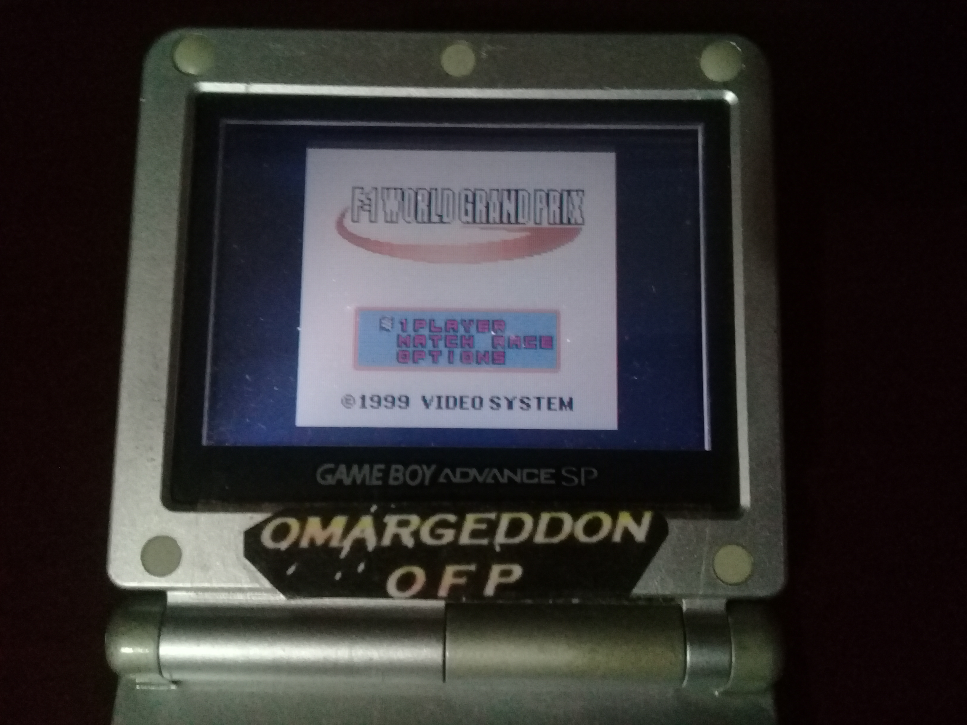 omargeddon: F-1 World Grand Prix: Time Trials: Rookie: Track 13 Belgian GP [Best Lap] (Game Boy Color) 0:01:43.966 points on 2019-05-24 09:35:07