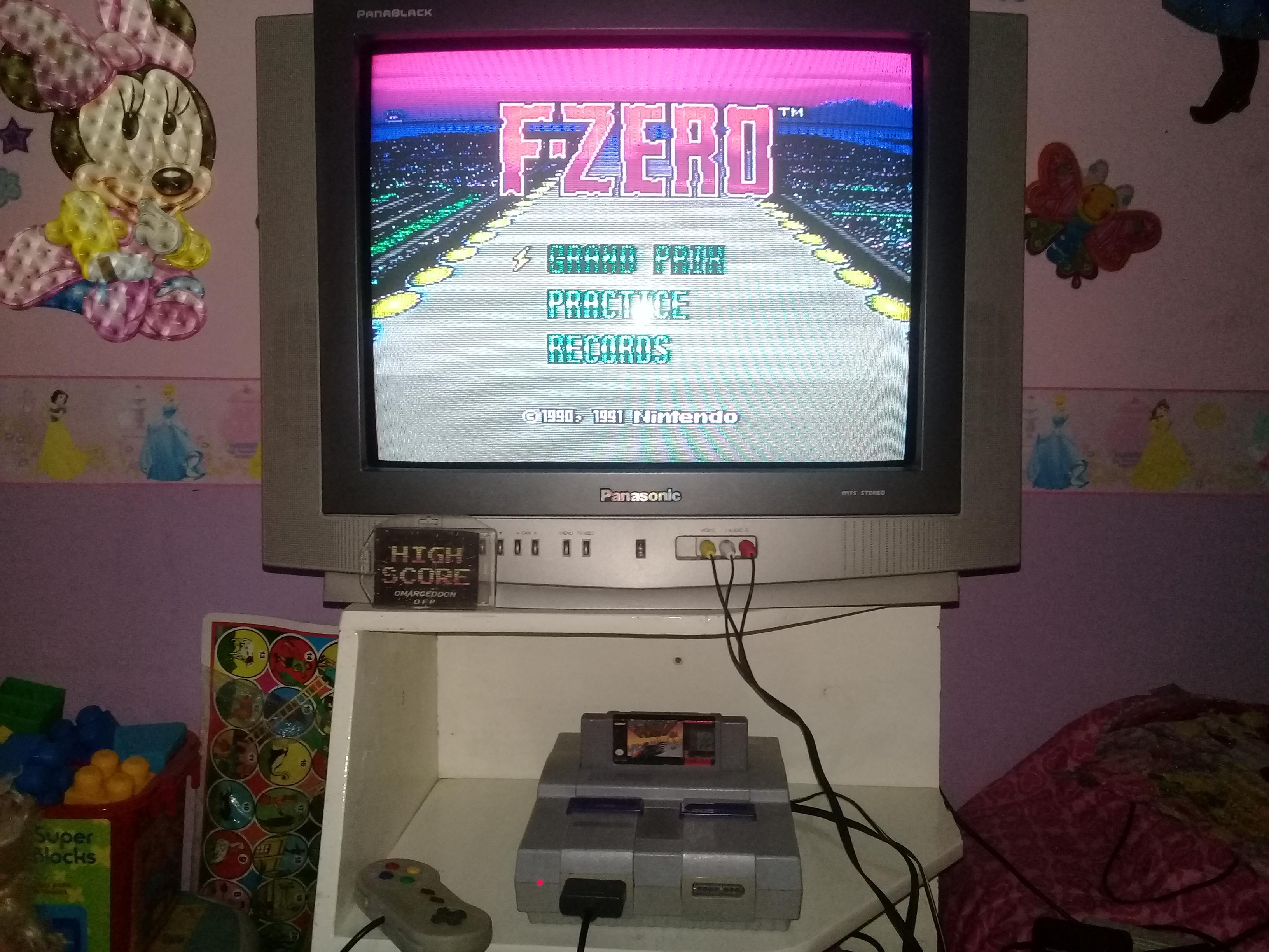 omargeddon: F-Zero: Big Blue [Beginner] (SNES/Super Famicom) 0:02:16.73 points on 2019-06-14 12:24:51