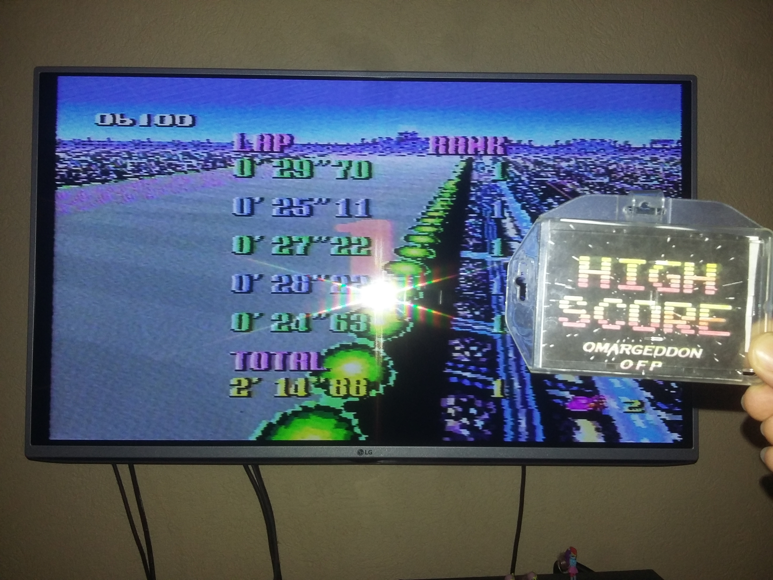 omargeddon: F-Zero: Grand Prix: Knight League [Beginner]: Mute City I (SNES/Super Famicom) 0:02:14.88 points on 2018-02-24 16:40:24