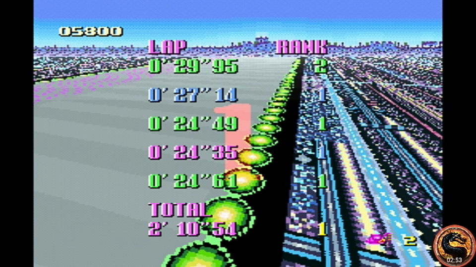 omargeddon: F-Zero: Grand Prix: Knight League [Standard]: Mute City I (SNES/Super Famicom Emulated) 0:02:10.54 points on 2019-06-26 13:19:23