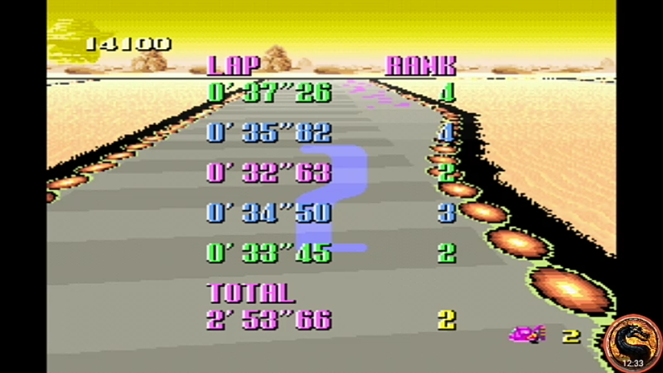 omargeddon: F-Zero: Grand Prix: Knight League [Standard]: Sand Ocean (SNES/Super Famicom Emulated) 0:02:53.66 points on 2019-06-26 13:21:16