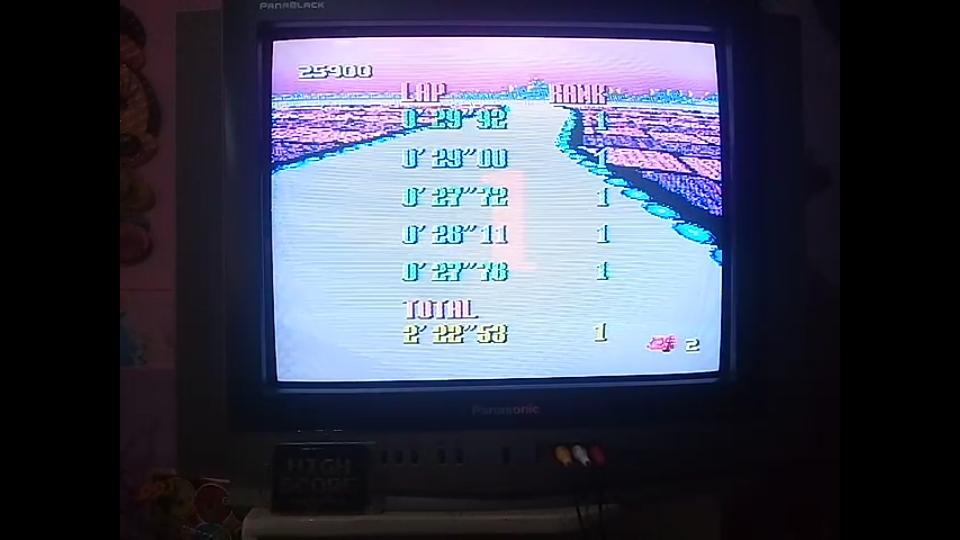 omargeddon: F-Zero: Grand Prix: Queen League [Beginner]: White Land I (SNES/Super Famicom) 0:02:22.53 points on 2019-06-25 13:01:33