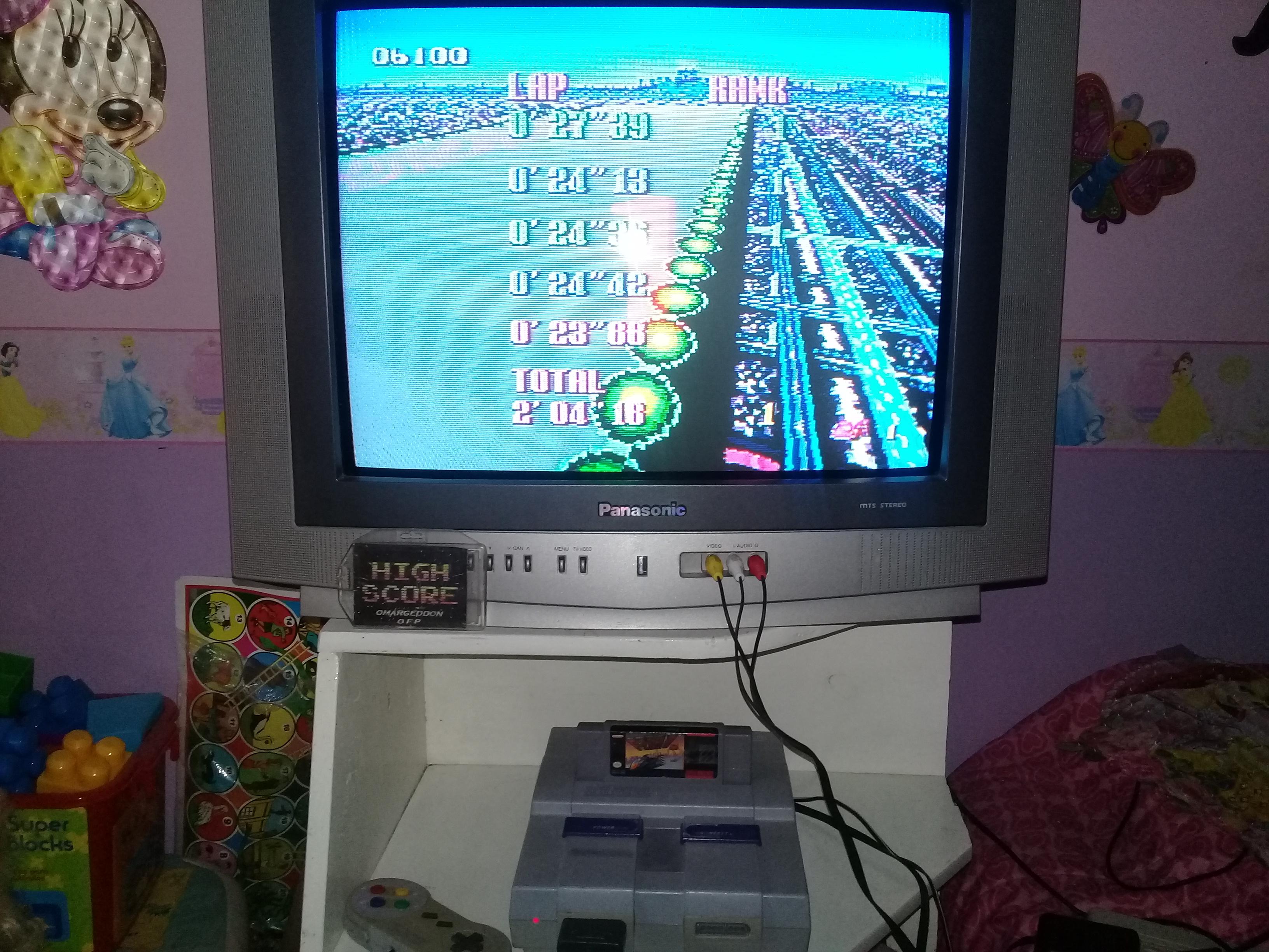 omargeddon: F-Zero: Mute City I [Beginner] (SNES/Super Famicom) 0:02:04.18 points on 2019-06-14 14:49:37