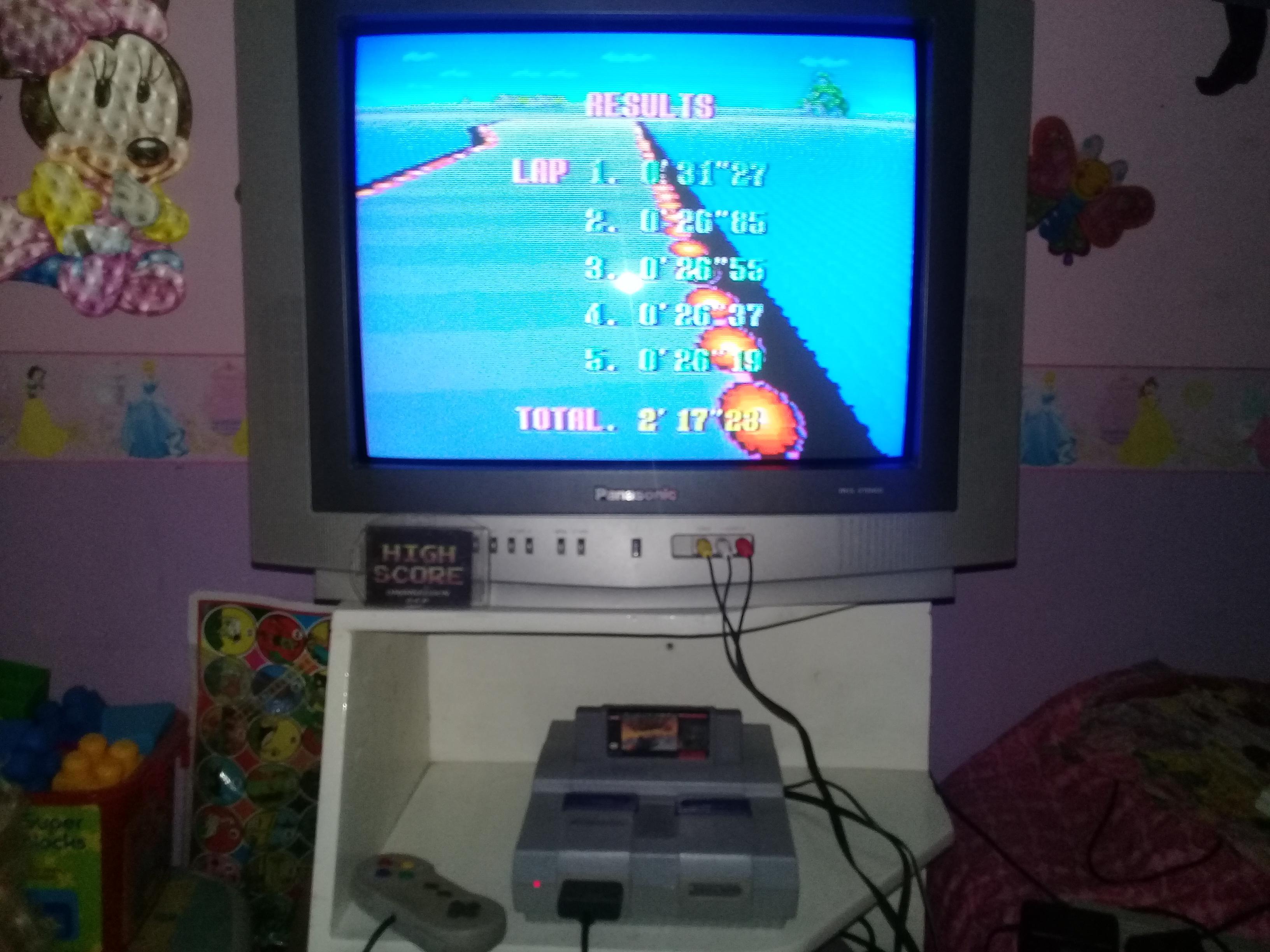 omargeddon: F-Zero: Practice [No Rival]: Big Blue (SNES/Super Famicom) 0:02:17.23 points on 2019-06-14 12:39:10