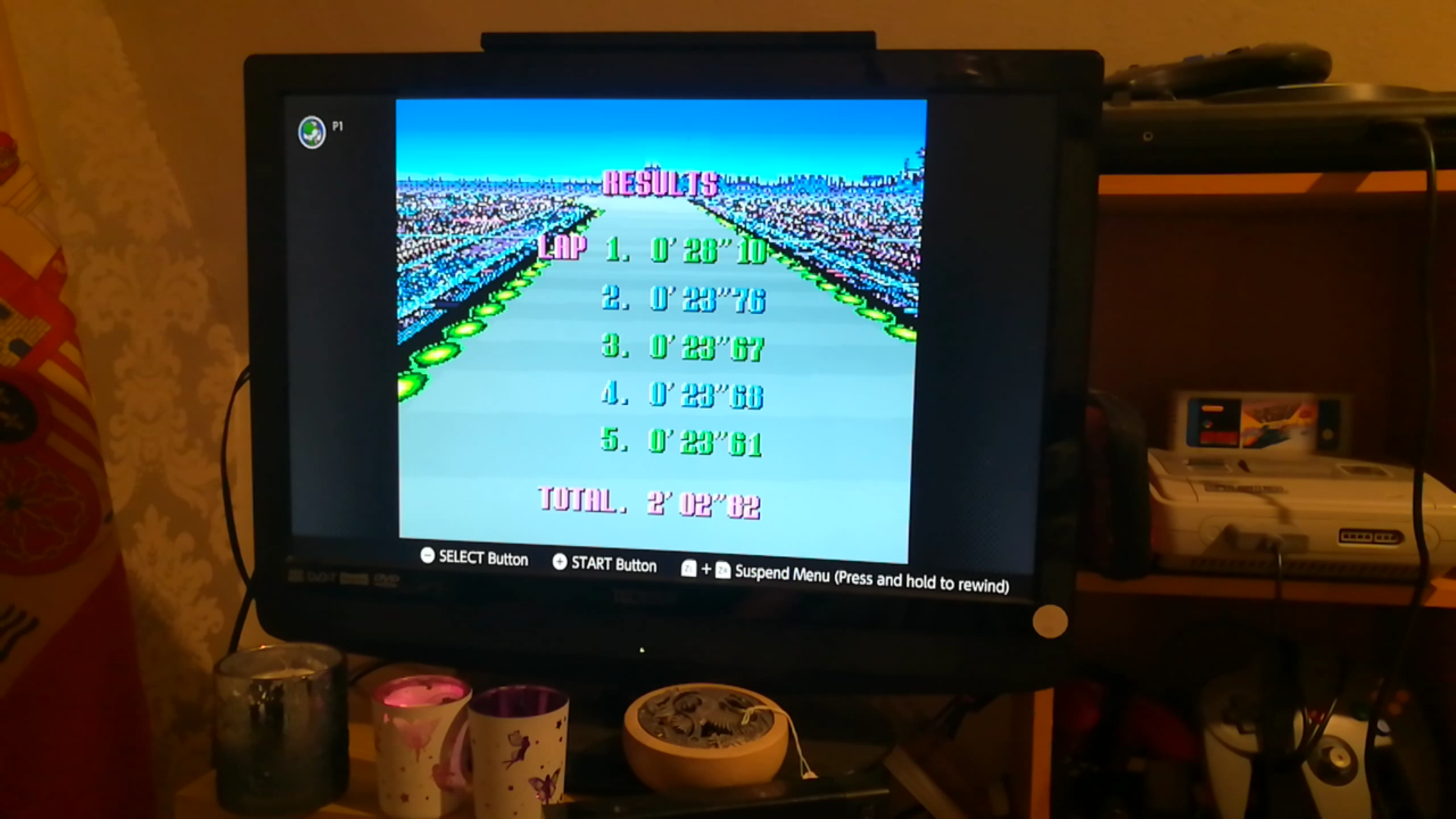 Mimitchi: F-Zero: Practice [No Rival]: Mute City I (SNES/Super Famicom Emulated) 0:02:02.82 points on 2020-03-08 21:31:10