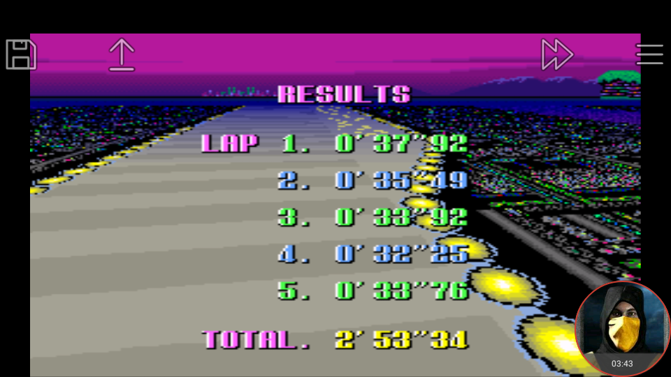omargeddon: F-Zero: Practice [No Rival]: Port Town II (SNES/Super Famicom Emulated) 0:02:53.34 points on 2018-02-19 02:58:37