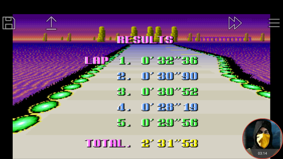 omargeddon: F-Zero: Practice [No Rival]: Silence (SNES/Super Famicom Emulated) 0:02:31.53 points on 2018-02-19 02:19:43