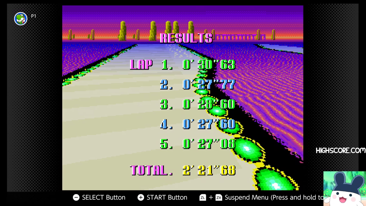 F-Zero: Practice [No Rival]: Silence time of 0:02:21.68