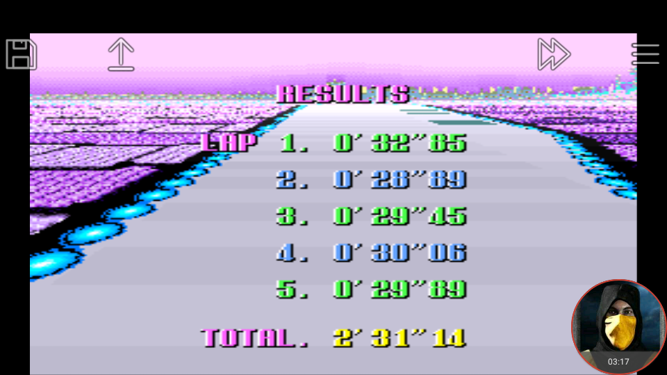 omargeddon: F-Zero: Practice [No Rival]: White Land I (SNES/Super Famicom Emulated) 0:02:31.14 points on 2018-02-19 02:51:58