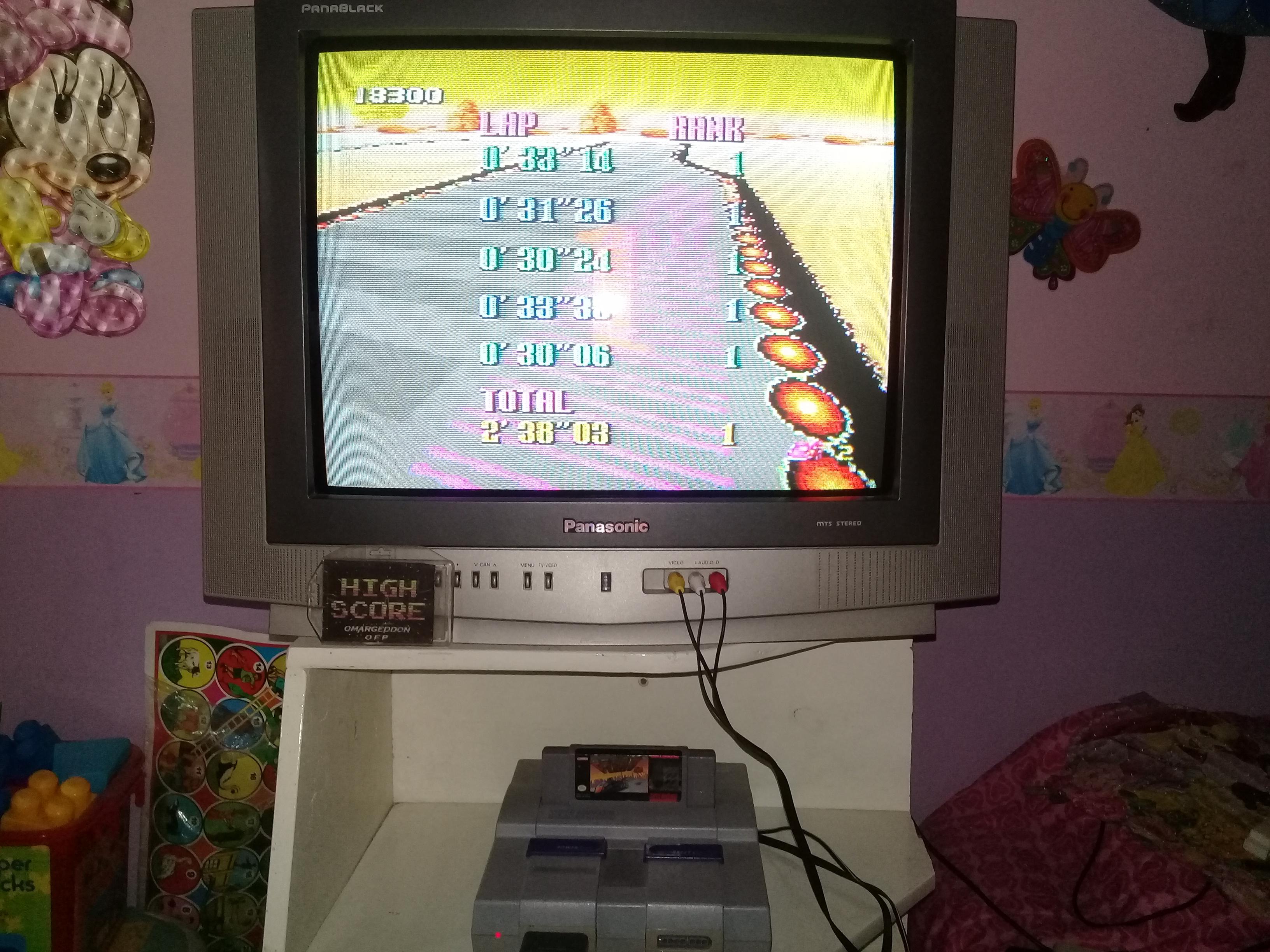 omargeddon: F-Zero: Sand Ocean [Beginner] (SNES/Super Famicom) 0:02:38.03 points on 2019-06-14 15:03:26