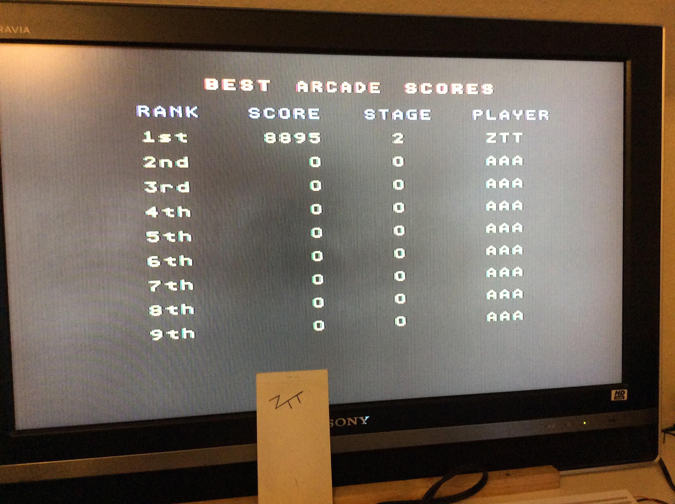 Frankie: F1 [Arcade / Novice / Leg 1 / Rest: Free Choice] (Amiga) 8,895 points on 2016-09-03 13:01:34